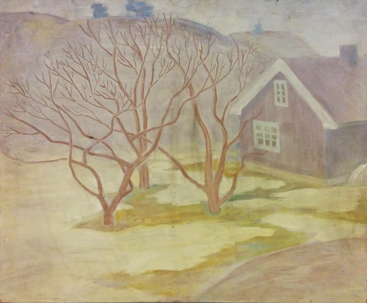 """Dette huset er """"Frøken Schwenkes hus på Østerøya"""